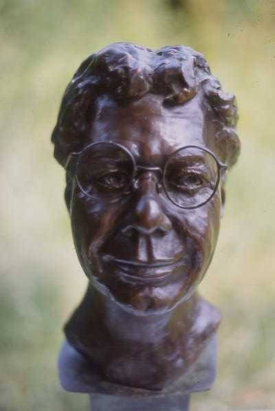 Bronze Bust of Chick Corea